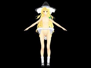 Model - Marisa v1.0 (J&J Edit) [Touhou] Lewd FRAGGY Hentaigirl vr porn game vrporn.com virtual reality