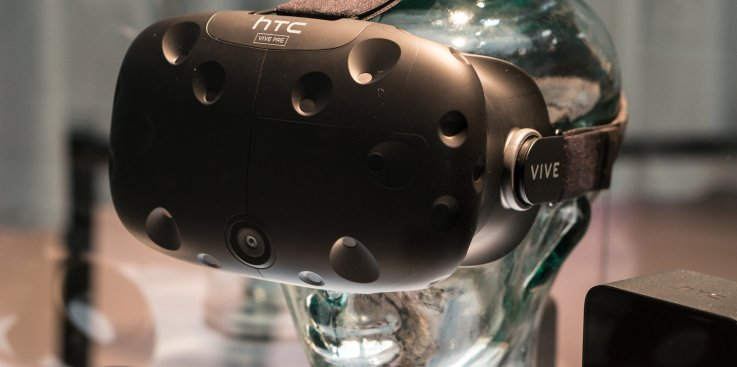 HTC Plans to Release Its First Mobile VR Headset Later in 2017 techcrunch.com vr porn blog virtual reality
