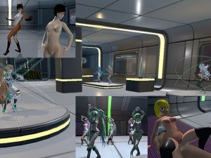 Galactic VRA Space Station *Update* (37 Girls) VRAnimeTed Hentaigirl vr porn game vrporn.com virtual reality