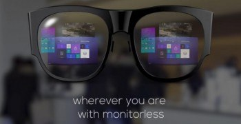 """Samsung Pitches Futuristic """"Monitorless"""" Mixed Reality Project gsmarena vr porn blog virtual reality"""