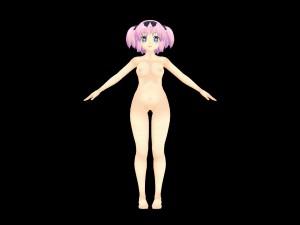 Model - Hibari [Senran Kagura] Lewd FRAGGY Hentaigirl vr porn game vrporn.com virtual reality