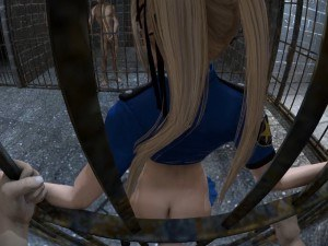 Dead Or Alive - Marie Rose In Jail Lewd FRAGGY Hentaigirl vr porn video vrporn.com virtual reality