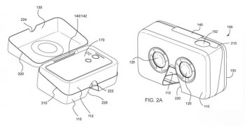 Google Patents Smartphone Packaging Box as an Entry Level VR Headset uploadvr vr porn blog virtual reality