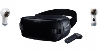 Samsung Unveils Gear VR Headset with Wireless Controller and the New Gear 360 Camera vr blog virtual reality