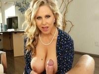 Blonde Milf Showing You The Way (Voyeur) VRHush Julia Ann Mr. Pete vr porn video vrporn.com virtual reality