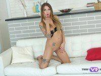 Fantastic Solo Sex Scene TmwVRnet Silvia Dellai vr porn video vrporn.com virtual reality