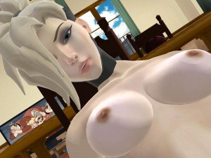 Overwatch -Mercy Loving Cowgirl Lewd FRAGGY hentaigirl vrporn.com virtual reality