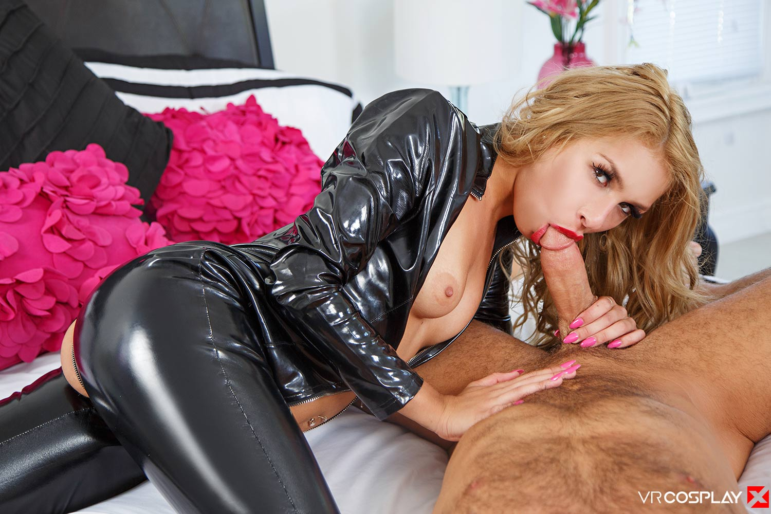 image Sexbabesvr gym pussy with angel piaff
