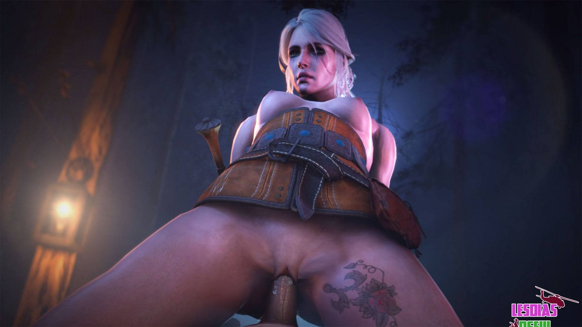 Shani witcher 3 sex scene - 1 part 8