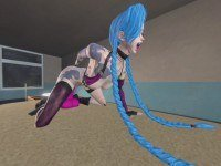 Jinx masturbating hard league of legends porn Vicesfm cgi girl vr porn video vrporn.com virtual reality