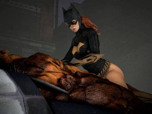 Batgirl Subdues Clayface In The Best Way DarkDreams cgi girl vr porn video vrporn.com virtual reality