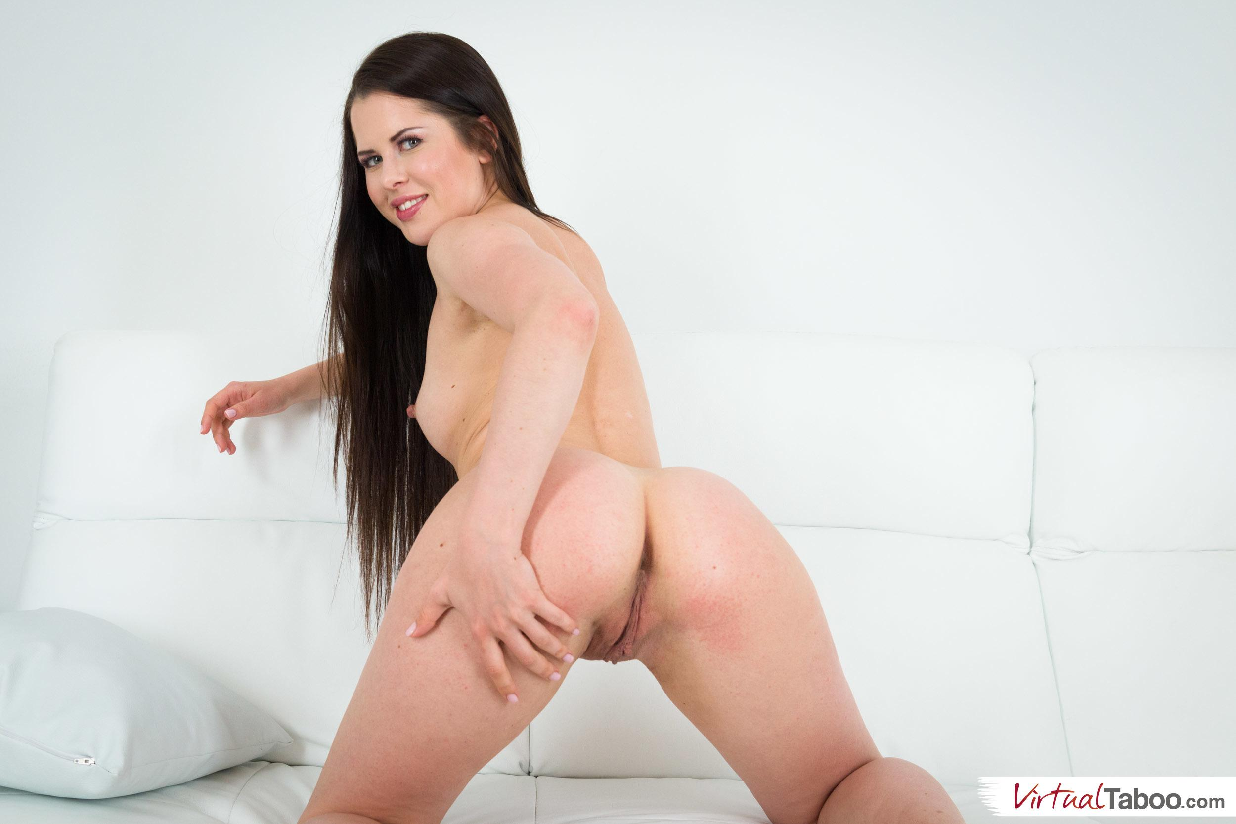 Cassie fire stretching like a real gymnast 10