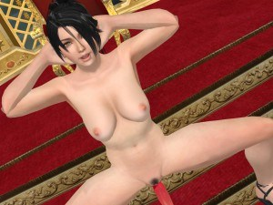 Dead Or Alive - Momiji Dildo Riding CGI Girl Lewd FRAGGY vr porn video vrporn.com virtual reality