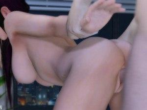 Kokoro's Room Has More Than Just A View DarkDreams Kokoro vr porn video vrporn.com virtual reality