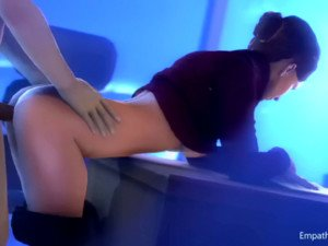 Diana's Overtime Schedule CGI Girl DarkDreams vr porn video vrporn.com virtual reality