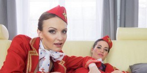 vr porn threesome reviews scoring flight attendants czechvr vr porn blog virtual reality