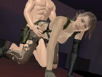 Metal Gear Solid - Quiet Fucked From Behind Lewd FRAGGY HentaiGirl vr porn video vrporn.com virtual reality