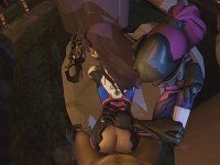 D.Va's Always Up For An Assist CGI Girl DarkDreams vr porn video vrporn.com virtual reality