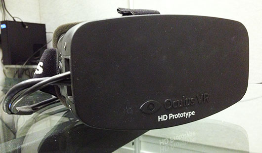 Oculus VR Rift HD Prototype at E3