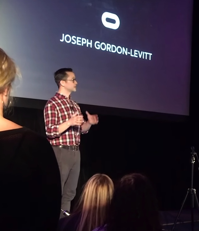 Movie Star Joseph Gorden-Levitt Supports VR JGL twitter + u/Heaney555 VRScout VR Porn Blog virtual reality