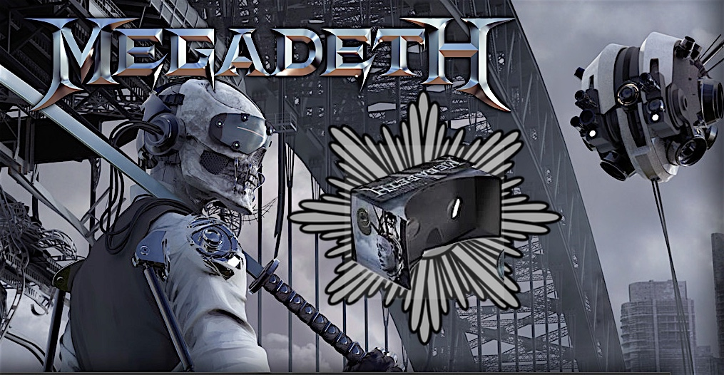 Megadeth Includes Free VR Goggles with their New Album 'Dystopia' VR Porn Blog virtual reality
