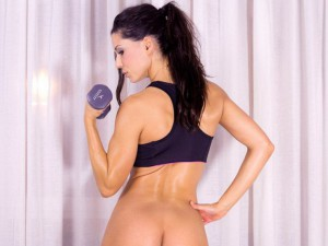 Fitness Sex - Spanish Beauty Works Out With Toys VirtualRealPorn Alexa Tomas VR porn video vrporn.com